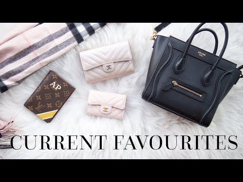 CURRENT FAVOURITES | LIFESTYLE & LUXURY