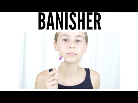 HOW TO GET RID OF ACNE SCARS IN 5 MINUTES: HOW TO USE BANISH KIT