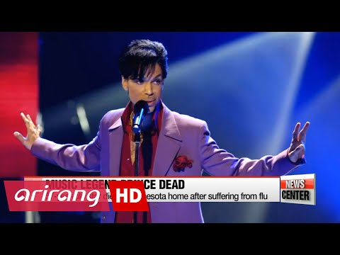 Fans mourn death of American music legend Prince