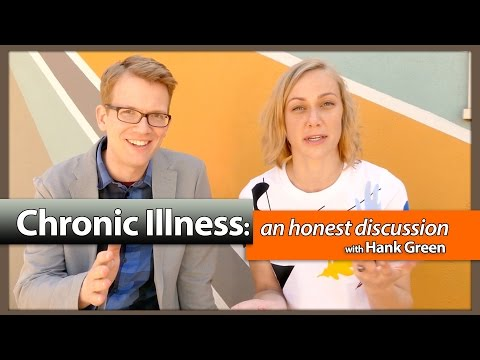 Chronic Illness: An honest discussion w/Hank Green & Kati Morton