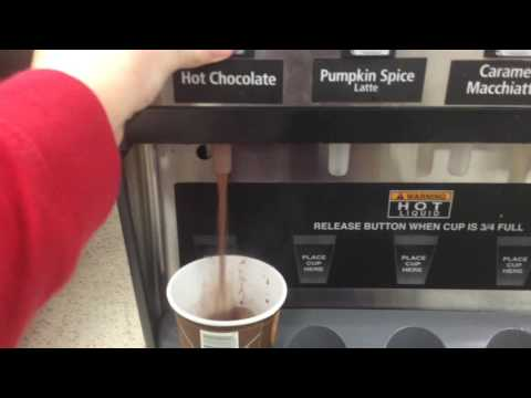 Hot Chocolate at 7 Eleven Ad