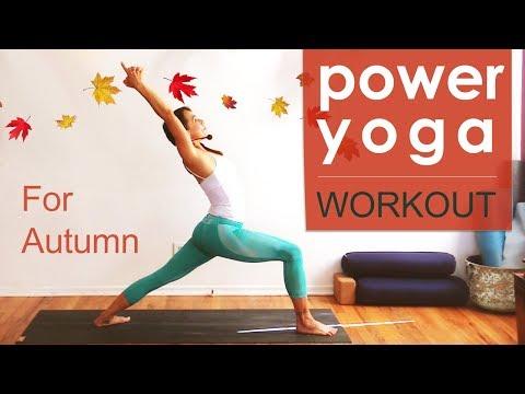 Power Yoga Workout for Autumn