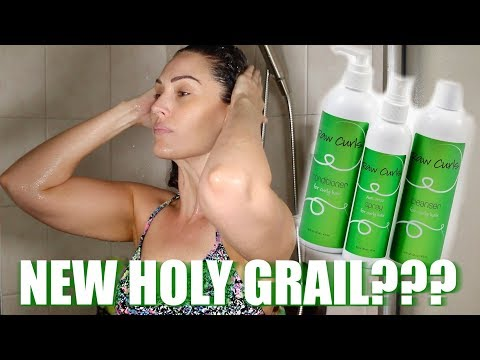 RAW CURLS PRODUCT REVIEW | THE GLAM BELLE