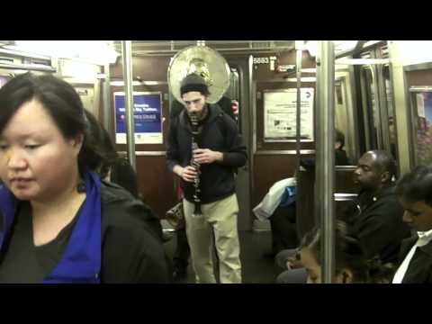 Occupy Wall Street Takes to the Subway (NYC)