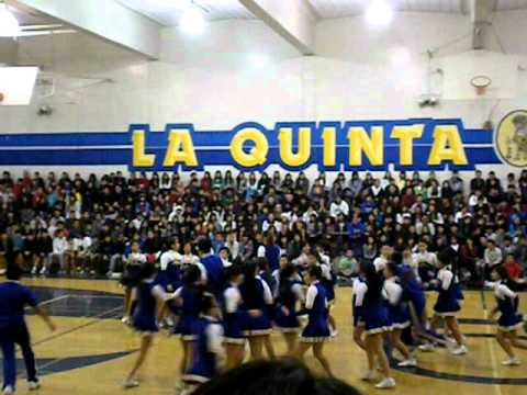 LQHS Cheer Winter Assembly 2011