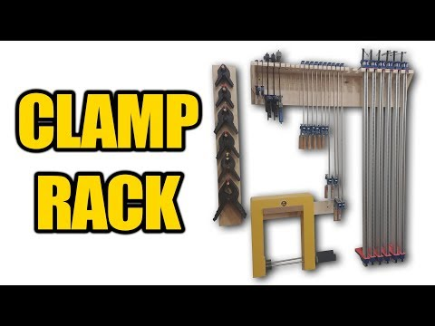How to Build a Clamp Rack with Scrap Plywood