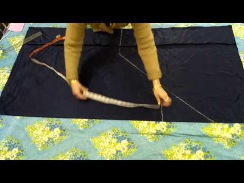 Pouch (Thaila) Salwar Cutting & Stitching Easy Methode