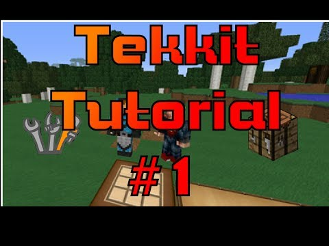 How to make a maceration and smelting station Tekkit Tutorial #1