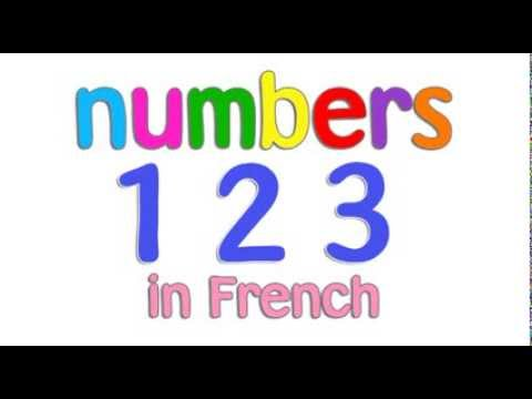 french numbers 1-10 for children