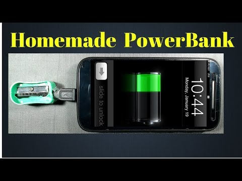 how to make a powerbank at home easy