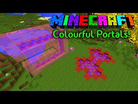 Pretty Pretty Portals! - [Colourful Portals Mod] 1.7.10