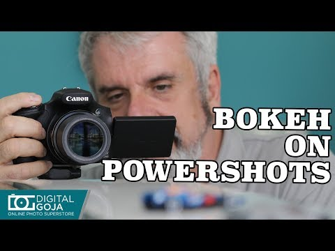 How to blur the background in PowerShot Cameras | Basic Photography Tips
