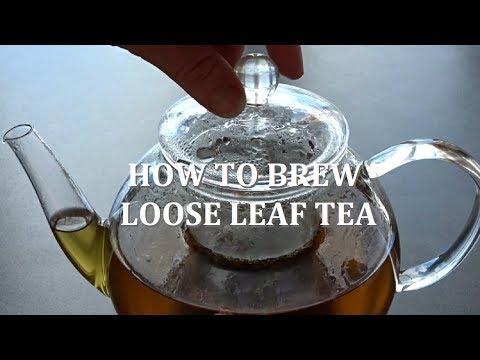 How To Brew Loose Leaf Tea 🌸 Teabloom