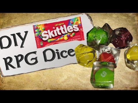 DIY Skittles Dice