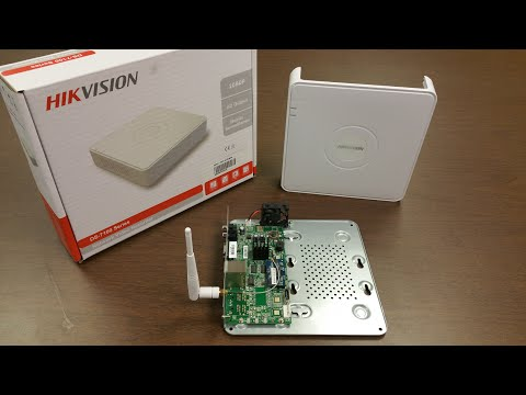 Hikvision DS-7104NI-SL/W Embedded Mini WiFi NVR unboxing by Intellibeam.com