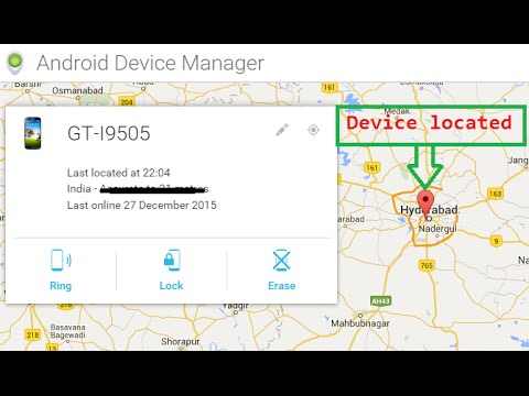How to find my lost android phone(lost mobile tracker )