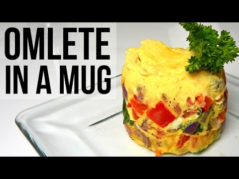 MUG OMELETT IN MICROWAVE - DIY, Homemade, Recipe Ideas - Inspire To Cook