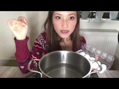 Monday Mukbang rice balls soup
