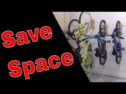 How to Make Vertical Bike Hangers