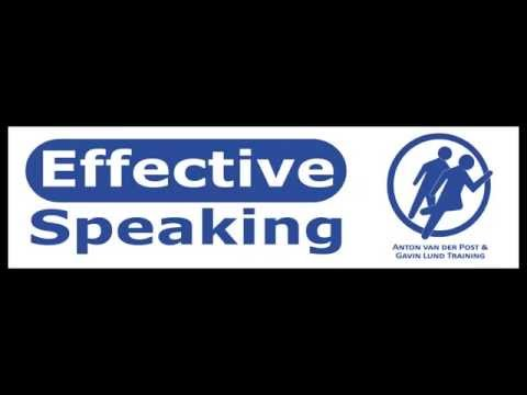 Effective Speaking - The power of non-verbal communication