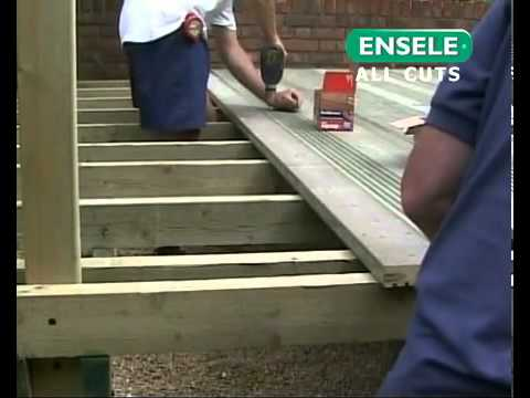 How to Build a Deck, Part 5 - Fitting Decking Boards. All you need to Know about How to Build a Deck