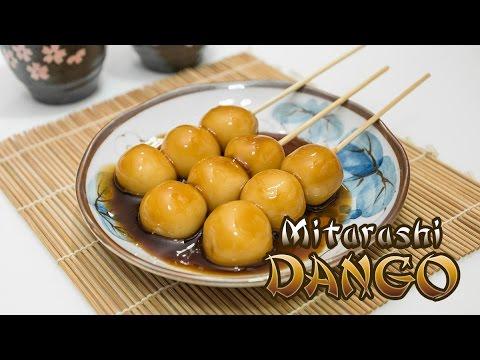 Mitarashi Dango Recipe (Japanese dumplings)