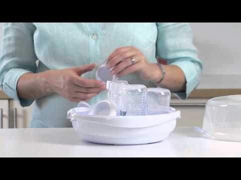 Philips AVENT Microwave Steam Steriliser - Directions for use