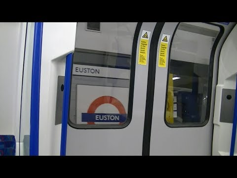 EUSTON TO MOORGATE STATION BY TUBE LONDON