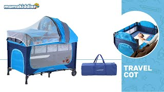 Mamakiddies Portable Baby Cot Playpen (Installation)