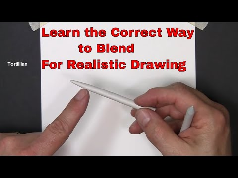 Pencil Drawing - Blending and Shading - Learn to blend and shade your drawings