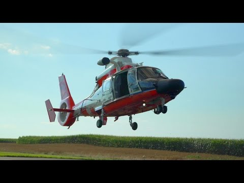 World's Busiest Airspace - AirVenture Fisk Arrival with US Coast Guard - Oshkosh - Flight VLOG
