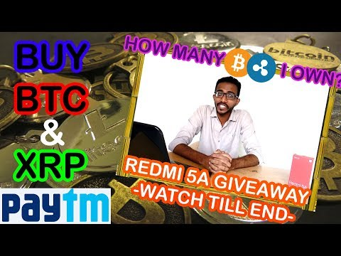 How to Buy Bitcoin & Ripple with Paytm Bhim UPI in India 2018 Live BTC/XRP Trade Deposit with INR