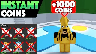 How to get 1000+ COINS INSTANTLY in Tower of Hell!