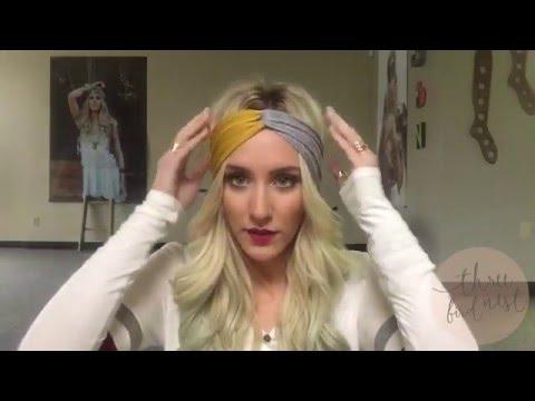 How To Wear A Turband Headband - 3 Ways to wear a twisted turban boho headband hairstyles