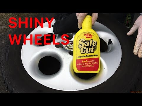 How To Remove Light Scratches, Scuffs, Curb Marks and Polish Wheels