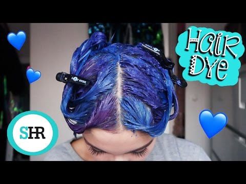 How To: BLUE OMBRE HAIR DYE with Arctic Fox & Colorista!