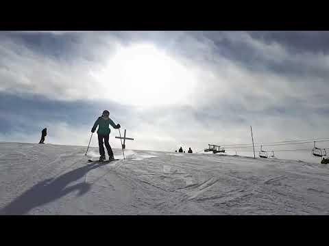 Une belle journée de ski au Paradis (28.02.2018)