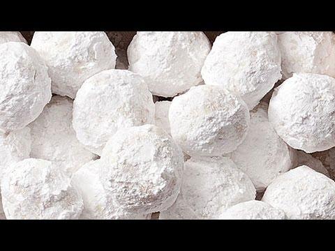 Almond Snowballs | Christmas Cookies