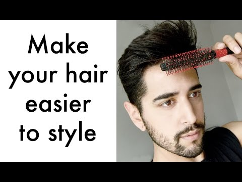 How to make your hair easier to style ( Men's hair tips 2016) ✖ James Welsh