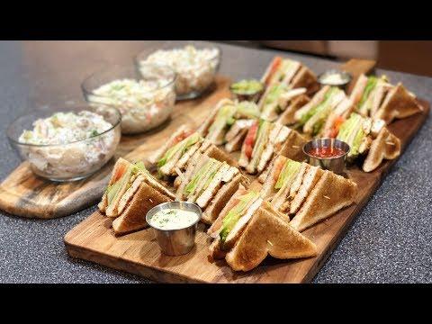 How To Make Club Sandwich