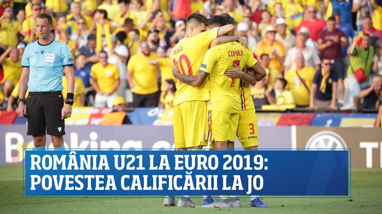 România U21 la EURO 2019 - povestea unei calificări la JO