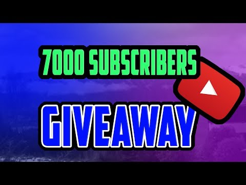 7000 SUBSCRIBERS COLLAB GIVEAWAY
