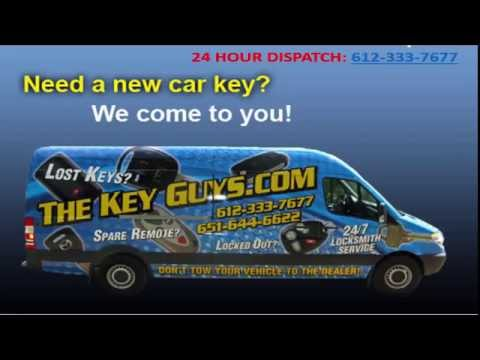 Car Keys Made & Repaired Roseville, Falcon Heights & Arden Hills