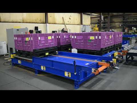 LEWCO Ergonomic Container Handling & AGV Interface