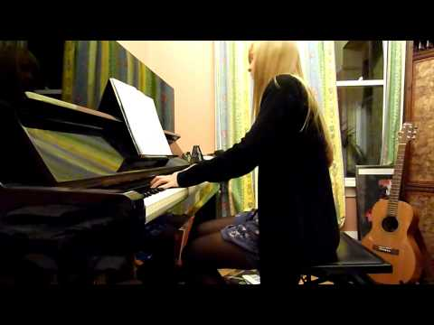 Lara plays Actraiser SNES medley in piano