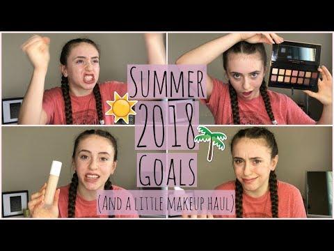 Summer 2018 Bucket List + a lil makeup haul:)
