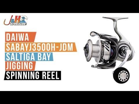 Daiwa SABAYJ3500H-JDM Saltiga Bay Jigging Spinning Reel | J&H Tackle
