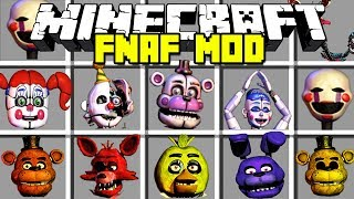 Minecraft SCARY FIVE NIGHTS AT FREDDY