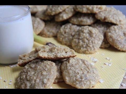 Fluffy Banana Oatmeal Cookies Recipe