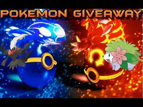 Pokemon Omega Ruby & Alpha Sapphire | Shiny Darkrai & Shiny Shaymin Giveaway